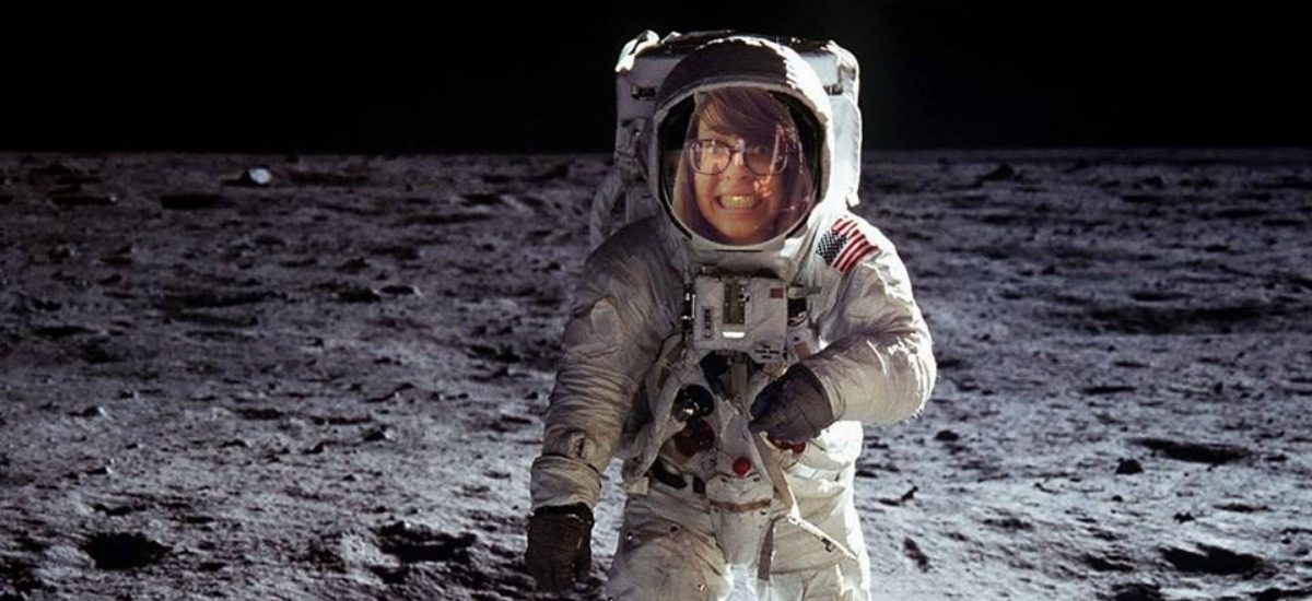 This is me in space.